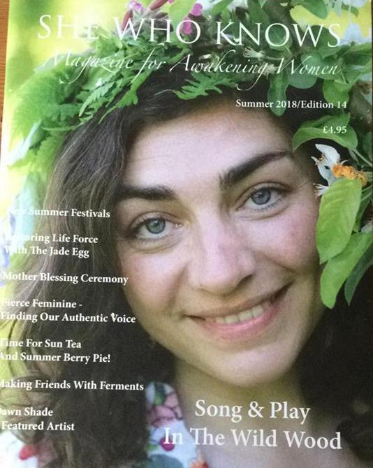 AEVA She Who Knows magazine